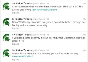 nice tweets