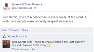 queen u compliment