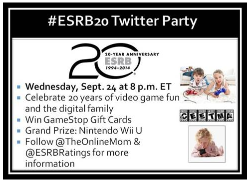 esrb twitter party