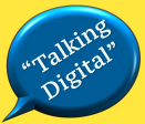 talking digital logo