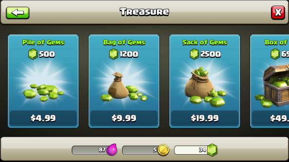 clash clan store 2