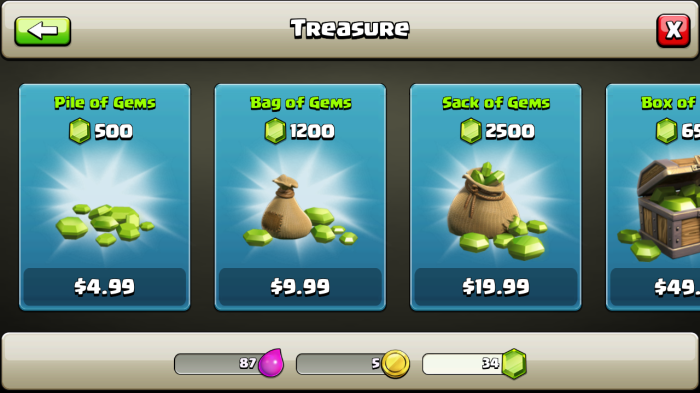 clash clan store 2