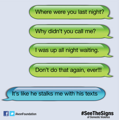 digital abuse signs