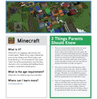 fosi Minecraft_Tip_Sheet_Image
