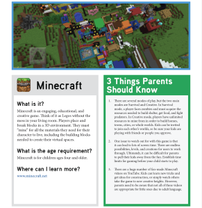 fosi Minecraft_Tip_Sheet_Image