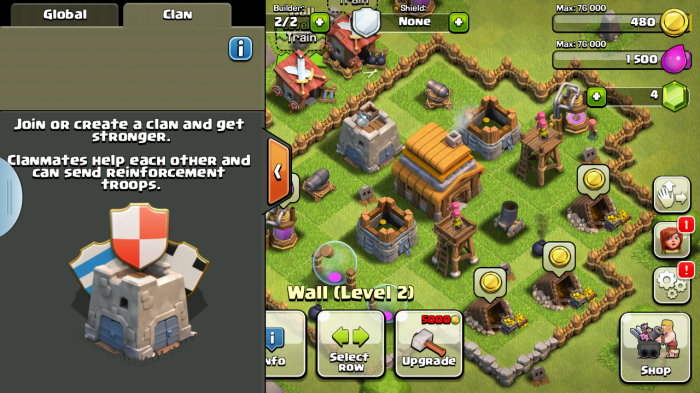 clash of clan chat 3