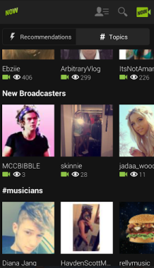 younow search