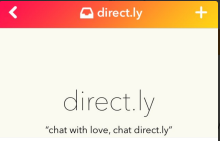 direct.ly screen