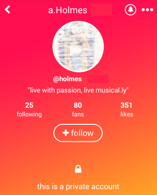 musically private acct