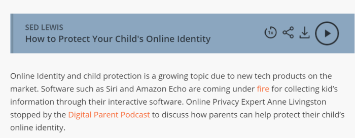digital parent pod link
